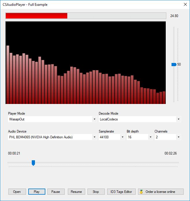 CSAudioPlayer full screenshot